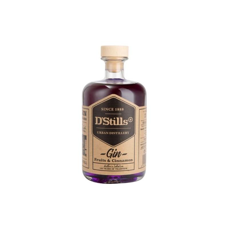gin frutos rojos violeta