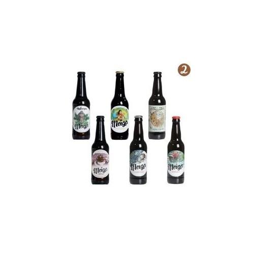 mix pack2 cerveza artesana gallega